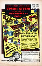 Verso de Gunsmoke Western (Atlas Comics - 1957) -39- No Place to Turn!