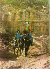 Verso de Hazañas del Oeste -EXTRA- Almanaque 1964