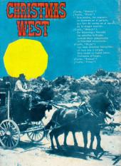 Verso de Hazañas del Oeste -EXTRA- Almanaque 1965
