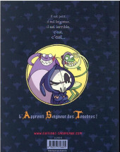 Verso de A.S.T. - L'Apprenti Seigneur des Ténèbres -INT1- L'Apprenti Seigneur des Ténèbres