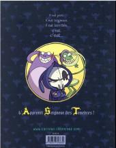 Verso de A.S.T. - L'Apprenti Seigneur des Ténèbres -INT2- Aventures baveuses