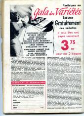 Verso de Frimousse et Frimousse-Capucine -60- Le secret de la montagne
