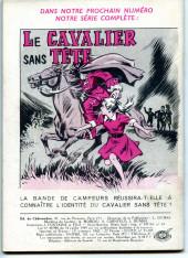 Verso de Frimousse et Frimousse-Capucine -89- Echec à Miss Dawson