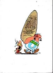 Verso de Astérix -15b1974- La zizanie