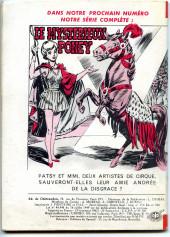 Verso de Frimousse et Frimousse-Capucine -104- La chasseresse du roi