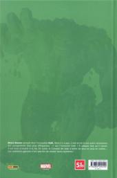 Verso de Le printemps des comics (Panini 2021) -7- Immortal Hulk - Ou est-il les deux ?