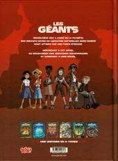 Verso de Les géants (Lylian/Drouin) -3- Bora et Leap