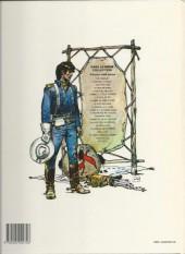 Verso de Blueberry -4d1985- Le cavalier perdu