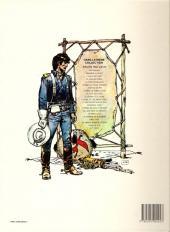 Verso de Blueberry -7b82- Le cheval de fer