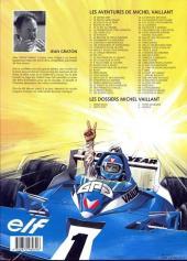 Verso de Michel Vaillant -8f1998- Le 8e pilote