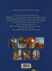 Verso de Les passagers du vent -1g2010- La Fille sous la Dunette