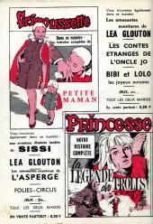 Verso de Frimousse et Frimousse-Capucine -194- Casey et ses copains