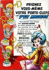 Verso de Frimousse et Frimousse-Capucine -20211- L'ange rouge de la conciergerie