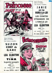 Verso de Frimousse et Frimousse-Capucine -211- La fille de l'outlaw