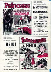 Verso de Frimousse et Frimousse-Capucine -216- Sheila