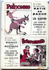 Verso de Frimousse et Frimousse-Capucine -217- Juliette au far-west