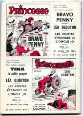 Verso de Frimousse et Frimousse-Capucine -219- Juliette et son cow-boy