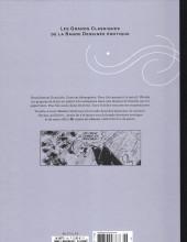 Verso de Les grands Classiques de la Bande Dessinée érotique - La Collection -126128- Mi-anges mi-démons