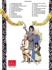 Verso de Thorgal -9McDo- Les Archers