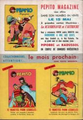 Verso de Pepito (3e Série - SAGE) (Pepito Magazine - 2e série) -5- Tempêtes artificielles...