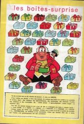 Verso de Pepito (3e Série - SAGE) (Pepito Magazine - 2e série) -21- Les fils du soleil et la perle rouge