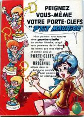 Verso de Frimousse et Frimousse-Capucine -20413- Liliane hôtesse de l'air