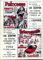 Verso de Frimousse et Frimousse-Capucine -20514- Liliane dame de compagnie volante