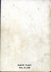 Verso de Blek (Les albums du Grand) -Rec05- Album N°5 (du n°30 au n°35)