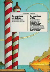 Verso de Lefranc -1c1973- La Grande Menace