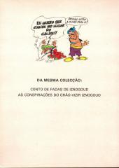 Verso de Iznogoud (en portugais) -1- As férias do califa