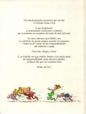 Verso de Astérix (hors série) (en portugais) -2- Como Obélix caiu no caldeirão do druida quando era pequeno