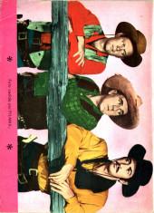 Verso de Hazañas del Oeste -147- Número 147