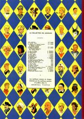 Verso de Blake et Mortimer (Les aventures de) (Historique) -7TL2- S.O.S. Météores - Mortimer à Paris