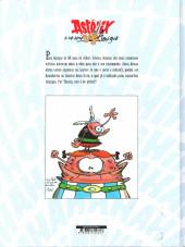 Verso de Astérix (hors série) (en portugais) -3- Astérix e os seus amigos - Homenagem a Albert Uderzo