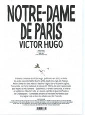 Verso de Clássicos da Literatura em BD -9- Notre Dame de Paris