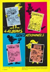Verso de Tif et Tondu -6a1975- Passez muscade