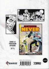Verso de Nathan Never (Editions Swikie) -4- L'Île de la mort