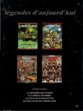 Verso de Les phalanges de l'ordre noir -a1981- Les Phalanges de l'Ordre Noir