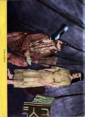 Verso de Hazañas del Oeste -157- Número 157