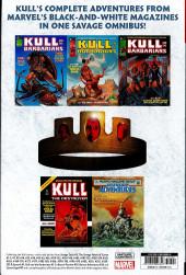 Verso de Kull the savage - The original Marvel years Omnibus -INT- Kull the savage