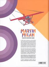 Verso de Martin Milan pilote d'avion-taxi (Intégrale) -4- Intégrale 4