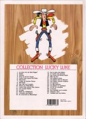 Verso de Lucky Luke -27b1993- Le 20ème de cavalerie