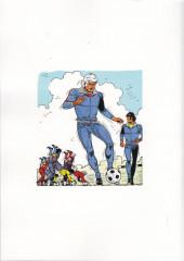 Verso de Eric Castel -16- Une Star de football est née