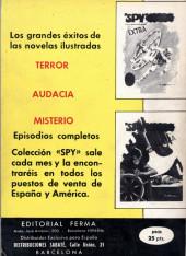 Verso de Spy Extra -3- Número 3