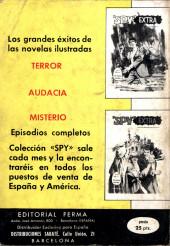Verso de Spy Extra -10- Número 10