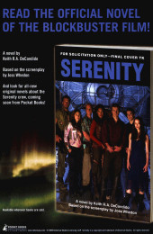 Verso de Serenity (Dark Horse Comics - 2005) -1- Issue # 1