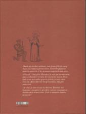 Verso de Ténébreuse -1TL- Livre premier
