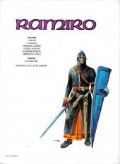 Verso de Ramiro -6- Tonnerre sur la Galice : Mission pour Compostelle 4