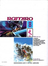 Verso de Ramiro -8- Les otages : le Trésor des Wisigoths 2