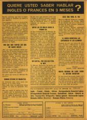 Verso de Hazañas del Oeste -192- Número 192
